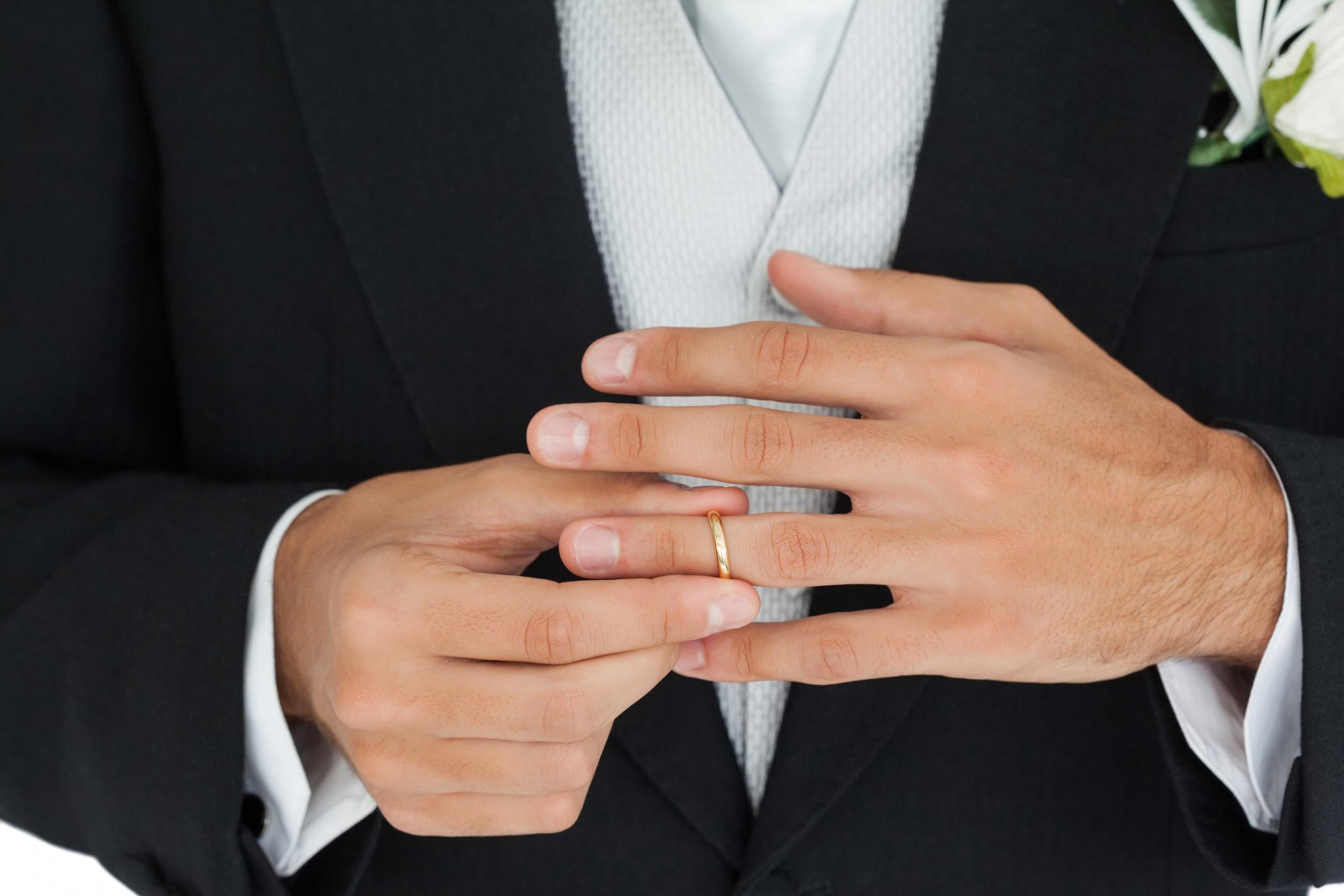 Hand trouwrinden