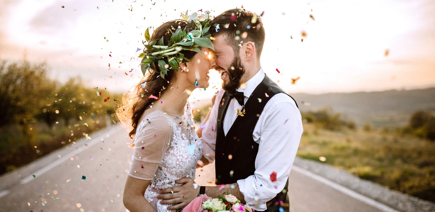 Celebrating Their Wedding With Style Picture Id1146979603