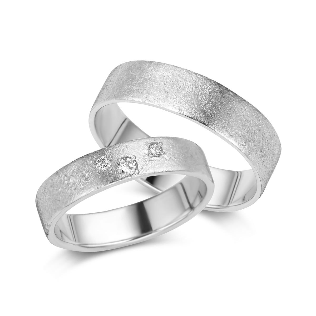 De Bruyloft trouwringen: B-DA011-DA012_W5