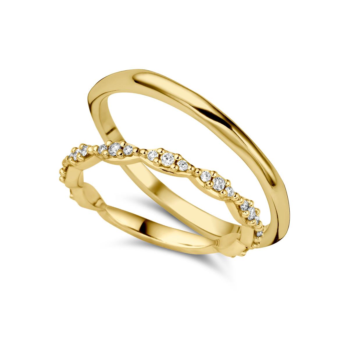 De Bruyloft trouwringen: B-RM180885-AD8825_G5