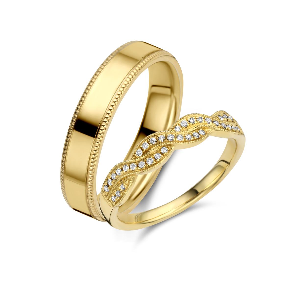De Bruyloft trouwringen: B-RM182168-A-1756-1_G7