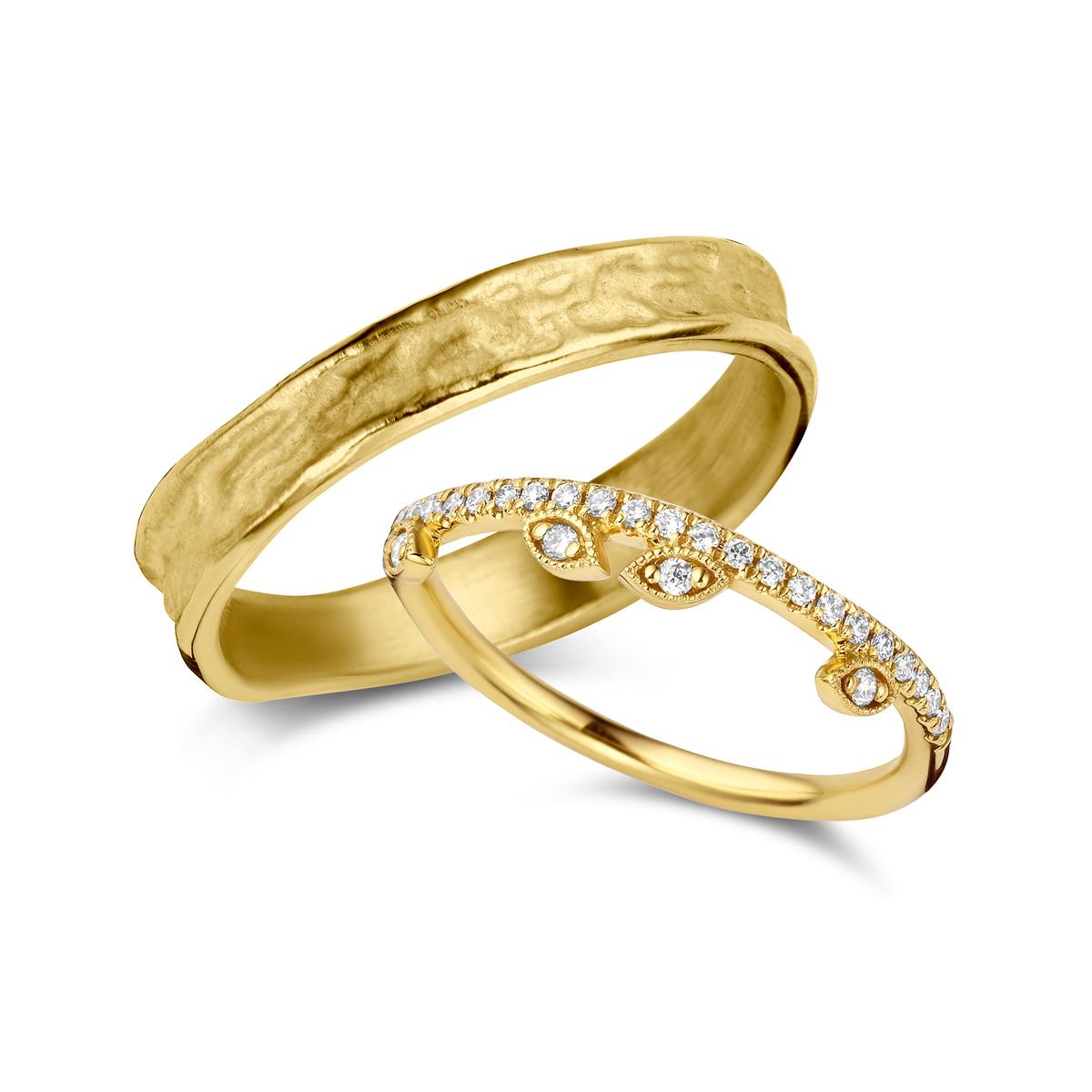 De Bruyloft trouwringen: B-RM182190-TW005H_G5