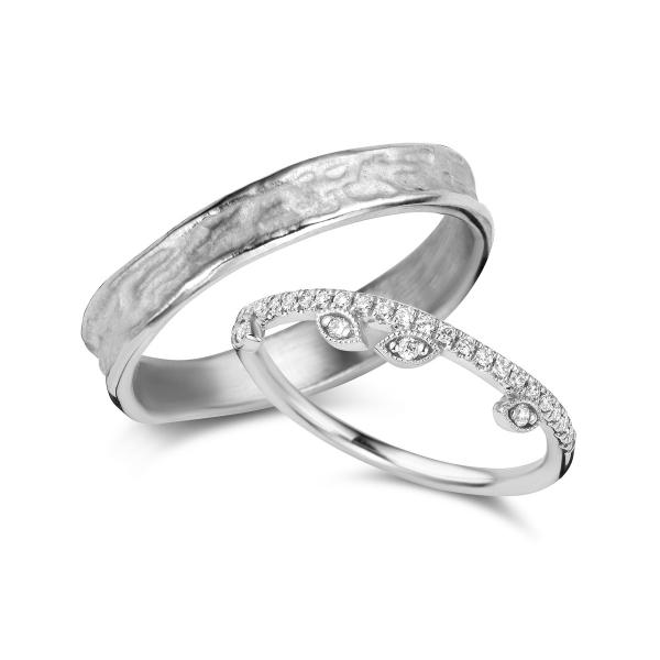 De Bruyloft trouwringen: B-RM182190-TW005H_W9