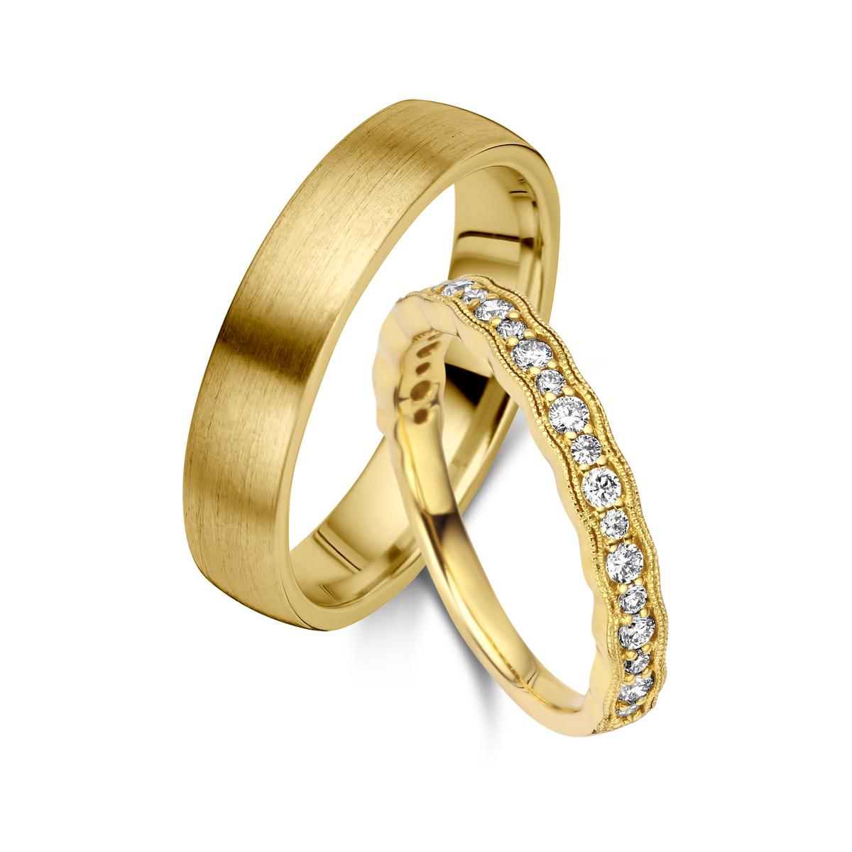De Bruyloft trouwringen: B-RM182799-S-1084-1_G7