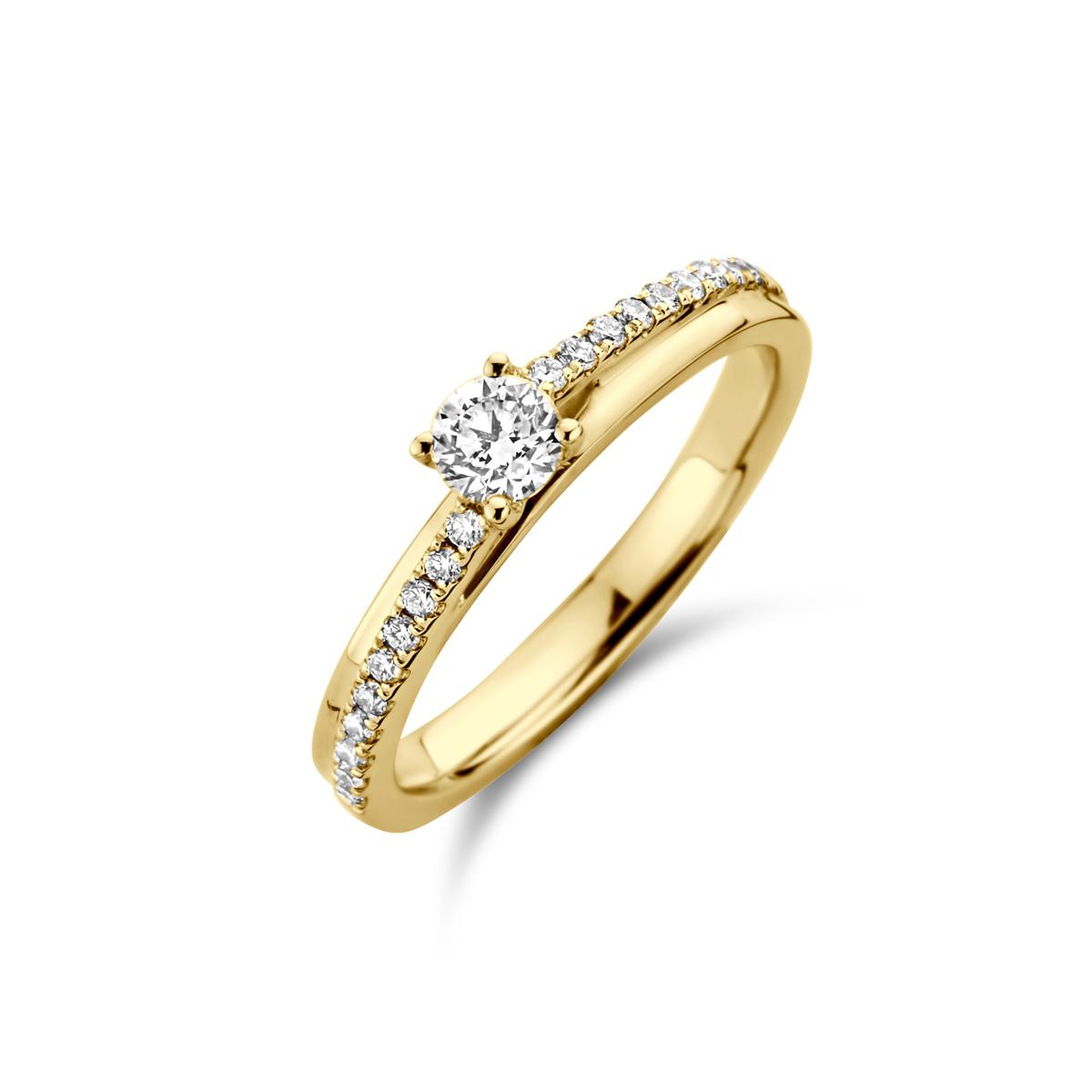 De Bruyloft verlovingsringen: B-RMRF3024_G7